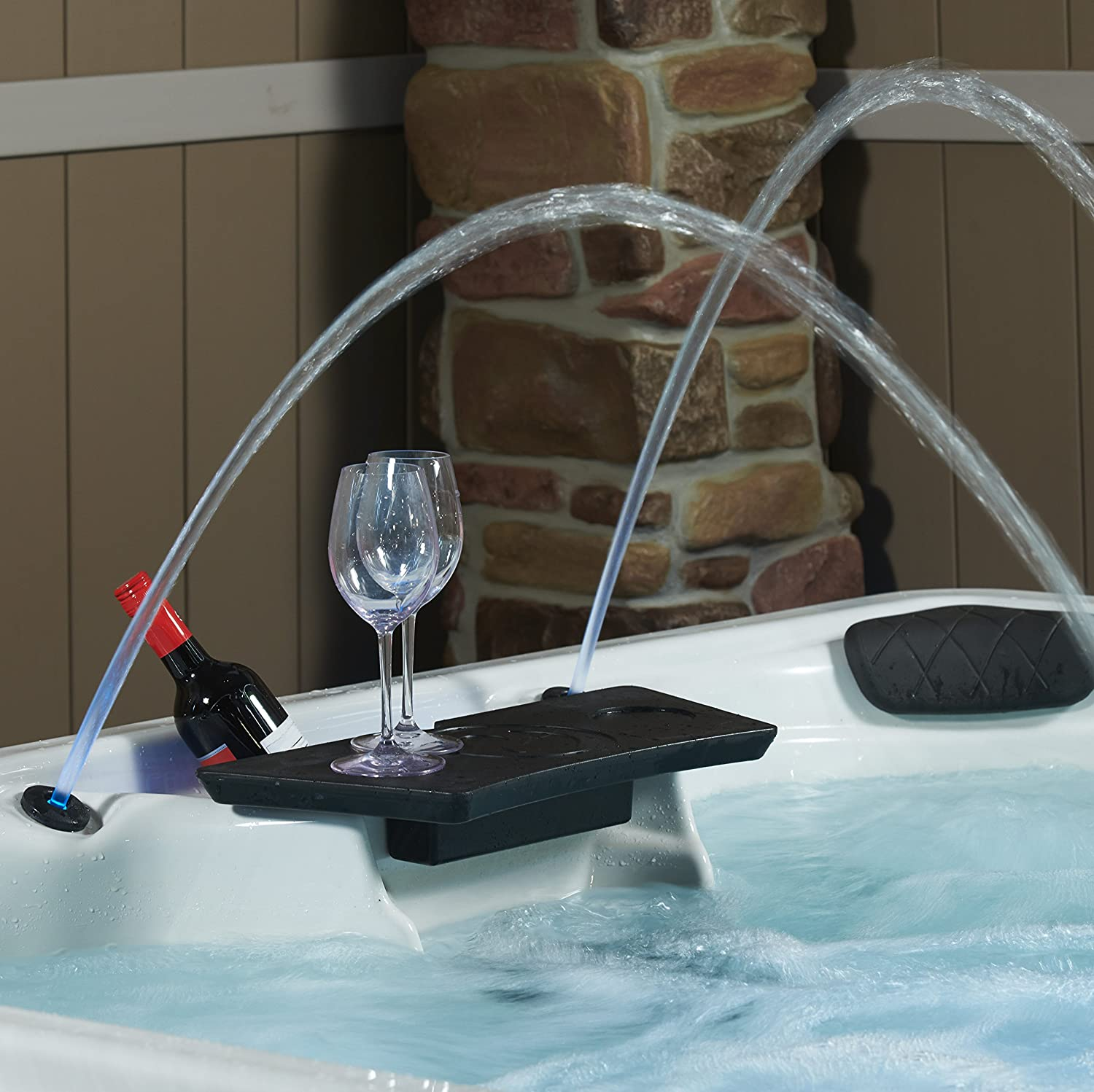 Essential-Hot-Tubs-30-Jets-Adelaide-Hot-Tub Water Colums Detail