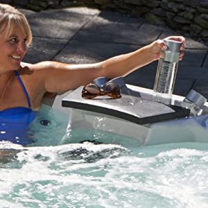Essential-Hot-Tubs-30-Jets-Adelaide-Hot-Tub with Person